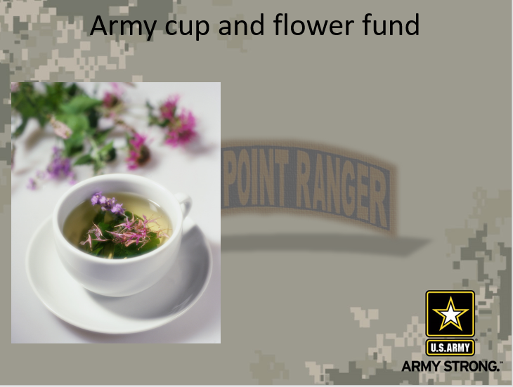Cup and Flower Fund (Army)