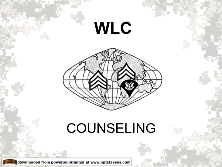 Counseling(WLC-RC)