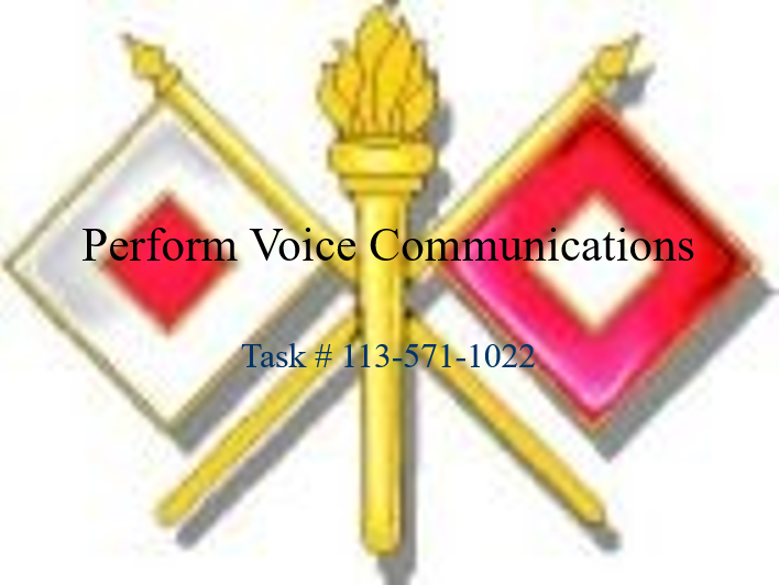 Perform Voice Communications v2