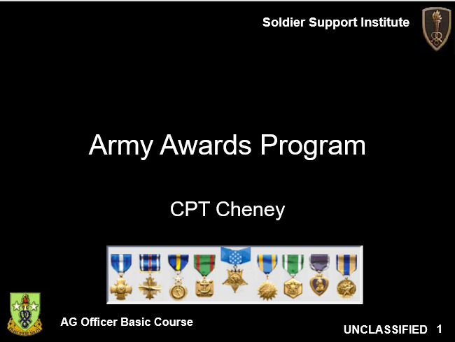 Awards and Decorations Classes, Awards and Decorations Classes, PowerPoint Ranger, Pre-made Military PPT Classes, PowerPoint Ranger, Pre-made Military PPT Classes