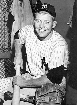 Mickey Mantle Popular Yankee