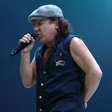 Brian Johnson ACDC Frontman