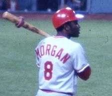 Joe Morgan Reds Second Baseman