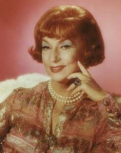 Agnes Moorehead  Star of Stage Screen TV and Radio