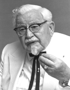 Colonel Sanders Finger Lickin Restauranteur