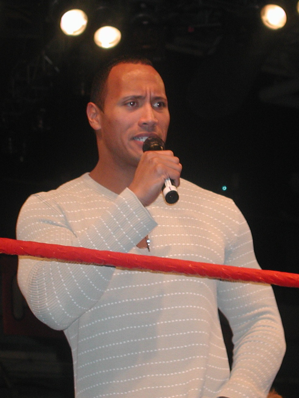 Dwayne The Rock Johnson WWE Superstar