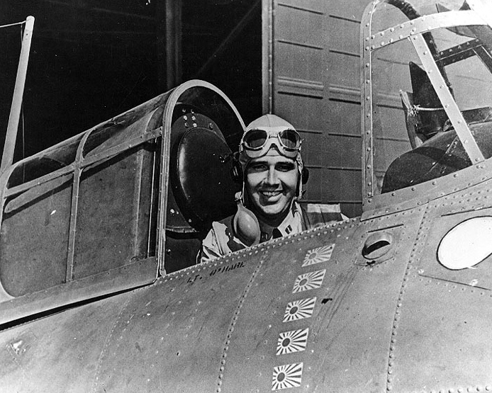 Edward Butch OHare US Military Hero