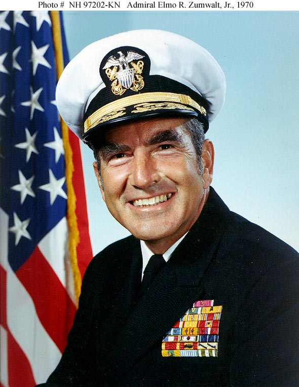 Elmo Zumwalt Jr.  Military Man