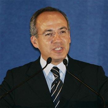 Felipe Calderón President of Mexico