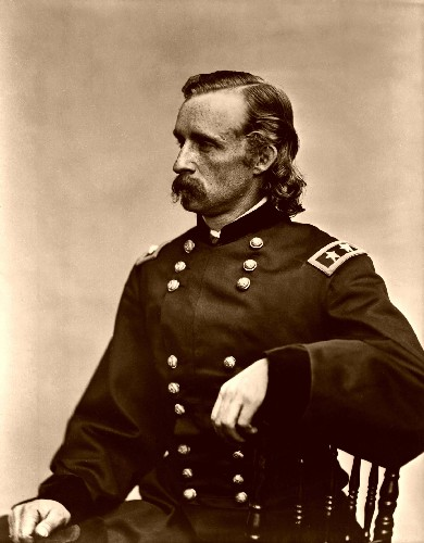 G.A. Custer He Met His At Little Big Horn
