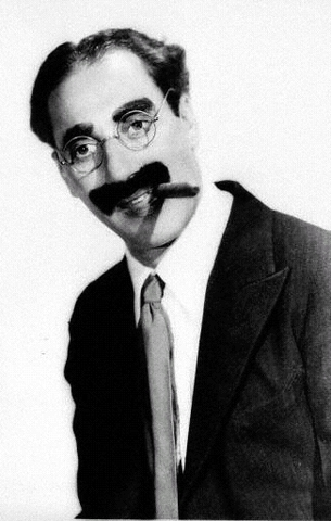 Groucho Marx Comedic Icon