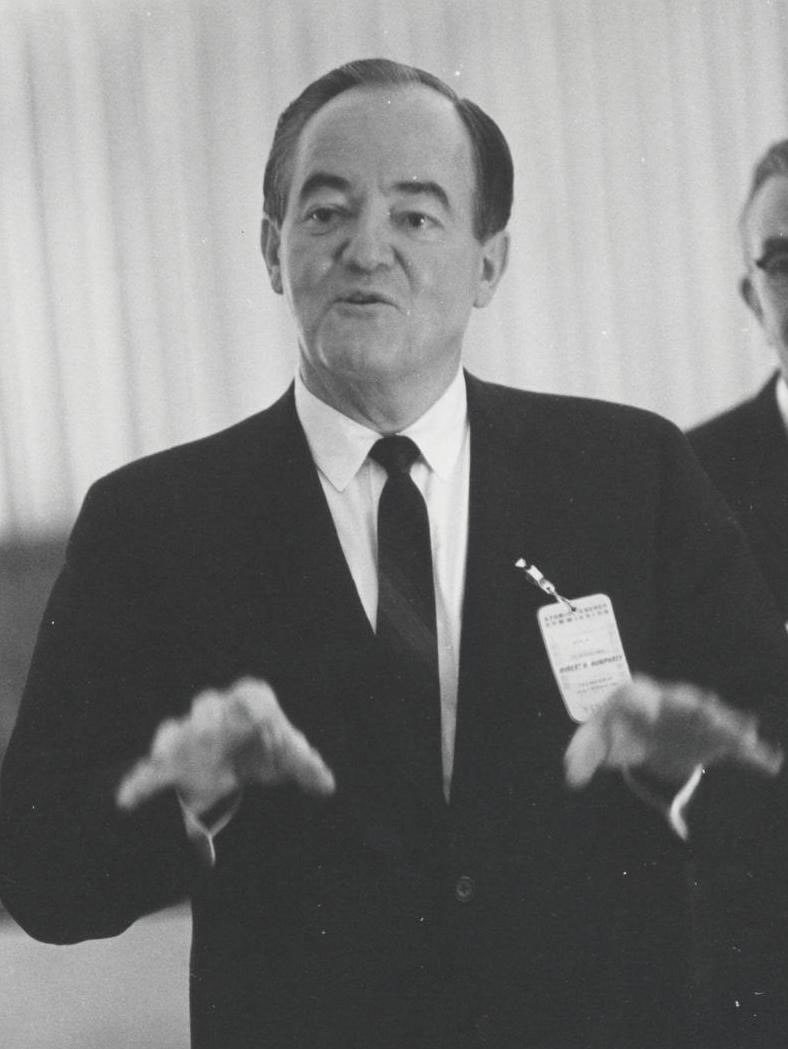 Hubert Humphrey 38th U.S. Vice President