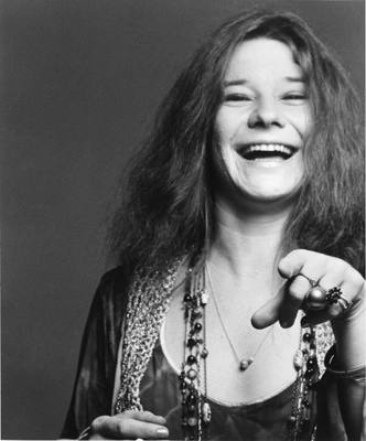 Janis Joplin  She dared to be different.