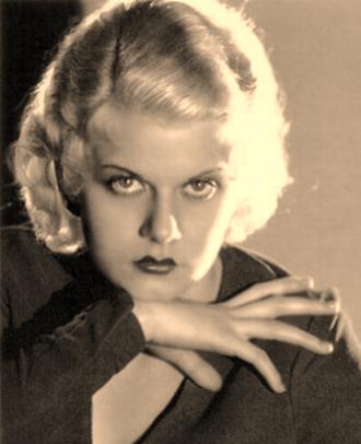 Jean Harlow Blonde Beautiful  Talented