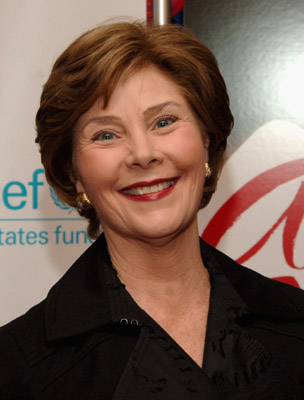 Laura Bush Elegant First Lady