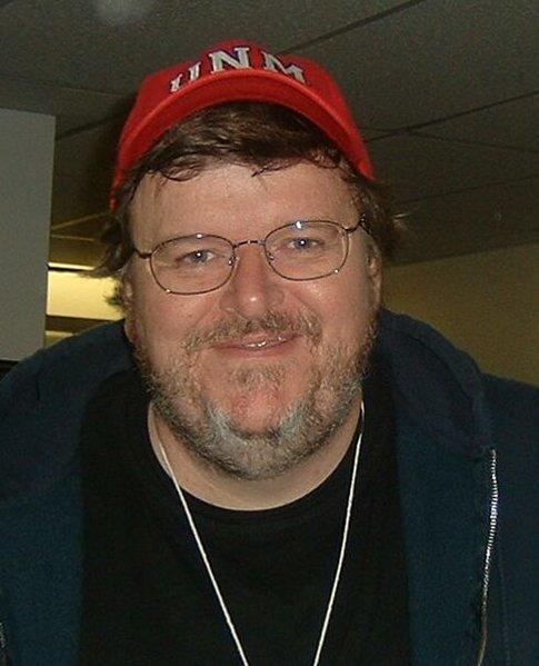 Michael Moore Liberal Commentator  Filmmaker