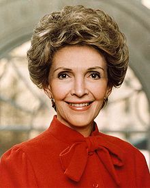 Nancy Reagan Glamorous First Lady