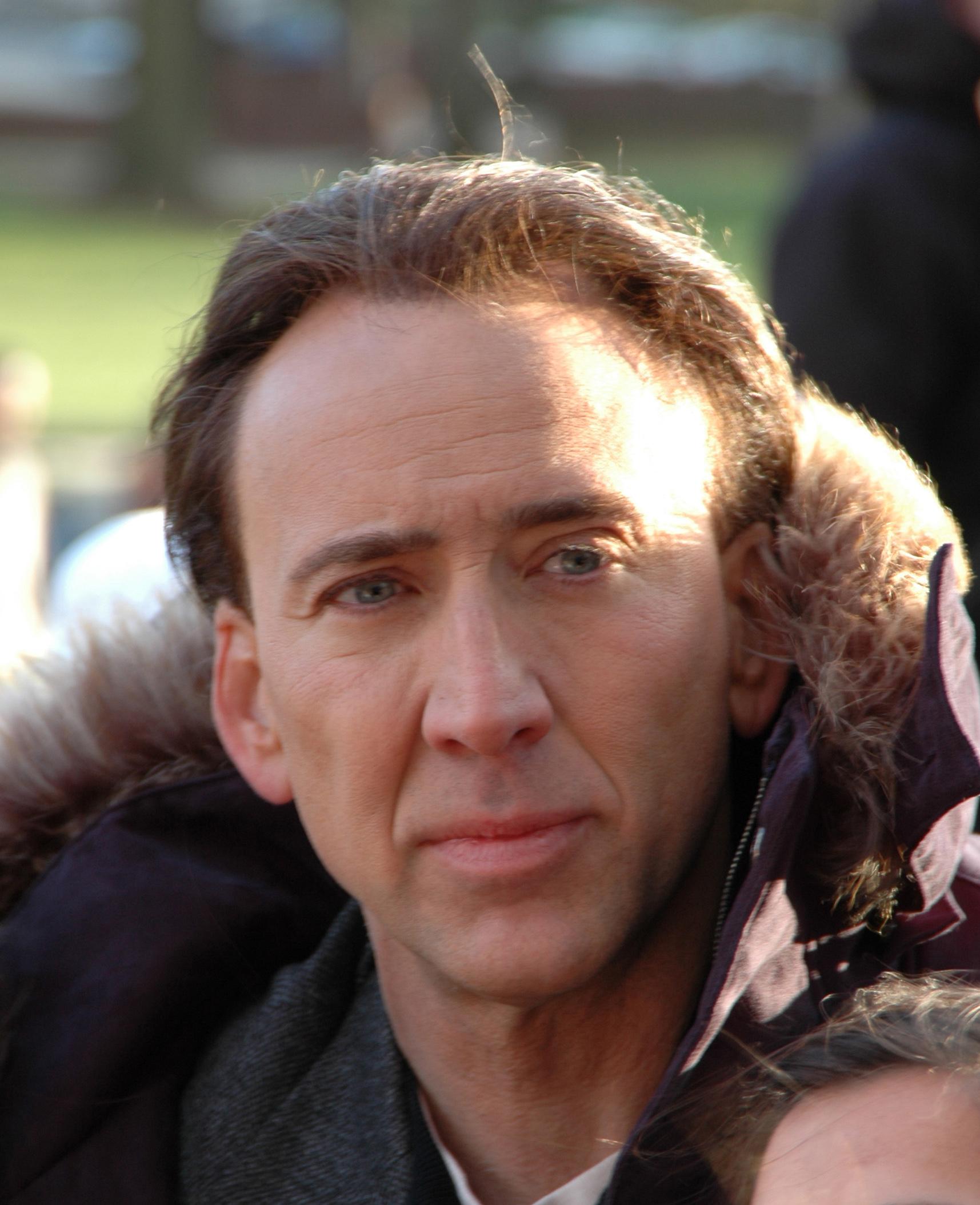 Nicholas Cage Award Winning Actor