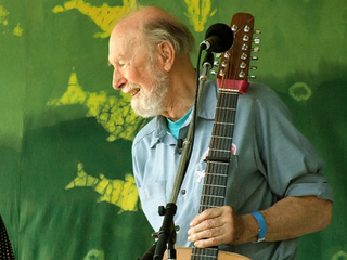 Pete Seeger a Music Icon