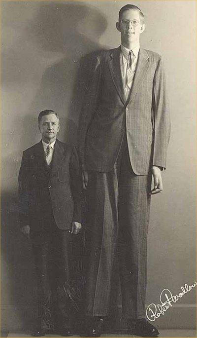 Robert Wadlow  Worlds Tallest Human