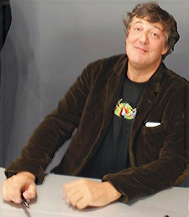 Stephen Fry British Actor  Comedian