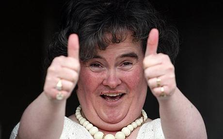 Susan Boyle Singing Sensation