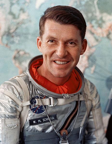 Wally Schirra American Astronaut