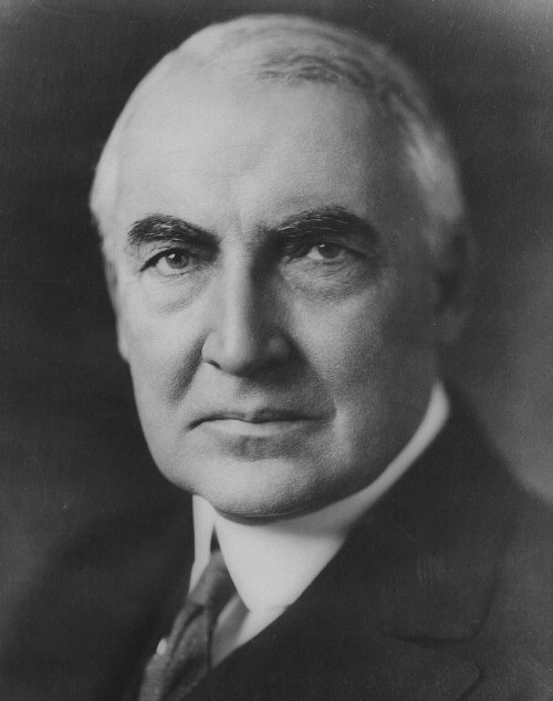Warren G. Harding 29th U.S. President