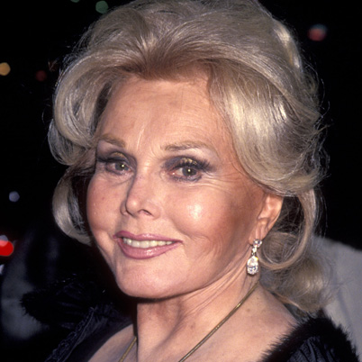 Zsa Zsa Gabor Lovely Actress  Socialite