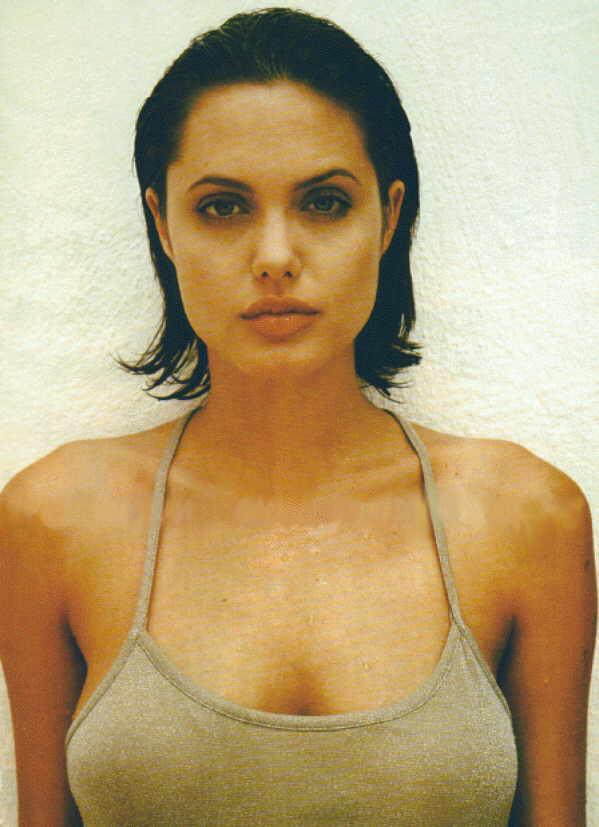 Angelina Jolie Little Angel
