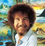 Bob Ross American Painter and TV Host