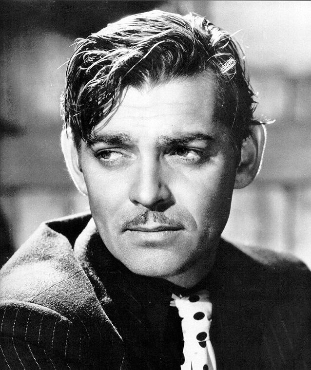 Clark Gable Macho Actor  Military Hero