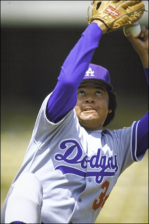 Fernando Valenzuela Dodger Great