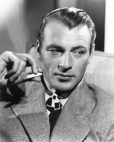 Gary Cooper Hollywood Icon