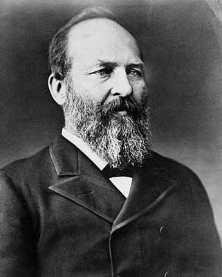 James A. Garfield 20th U.S. President