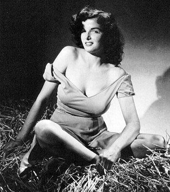 Jane Russell Classic Hollywood Glamour Girl