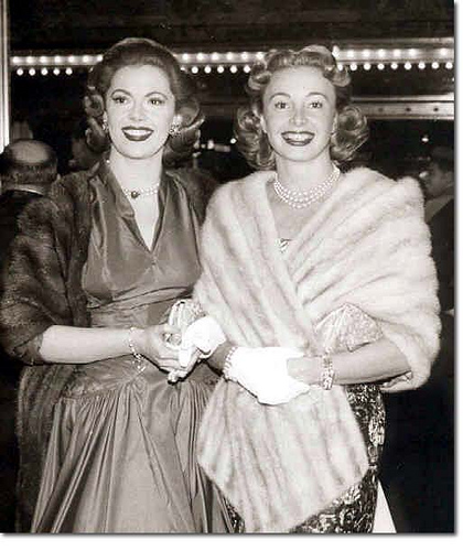 Audrey Meadows  Jayne Meadows Hollywood Sisters