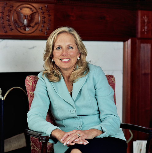 Jill Biden Very Educated Second Lady