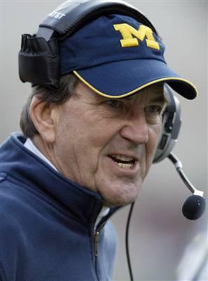 Lloyd Carr Michigan Football Coach