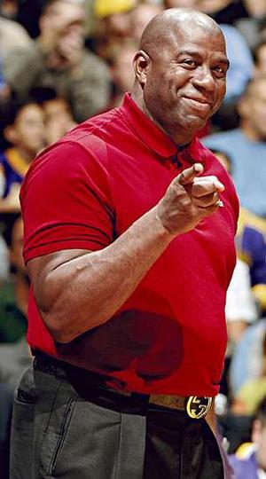 Earvin Magic Johnson Hoops Superstar