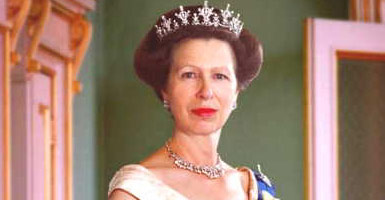 The Princess Anne Princess Royal