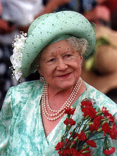 HM Queen Elizabeth The Queen Mother
