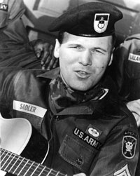Barry Sadler Green Beret Singer and Author
