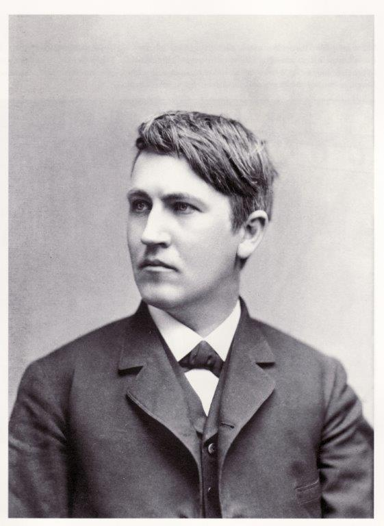 Thomas Edison  The Wizard of Menlo Park