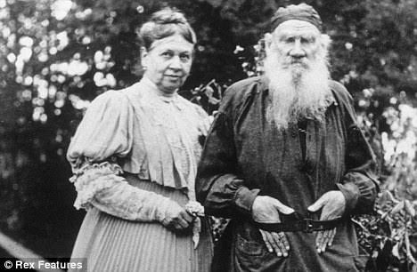 Leo and Sofya Tolstoy  A strained relationship