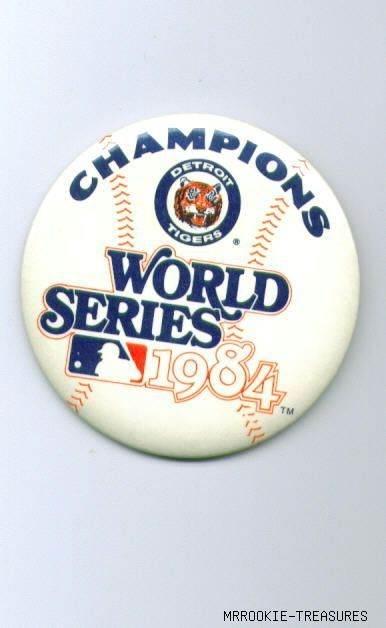 Detroit Tigers 1984 Champs