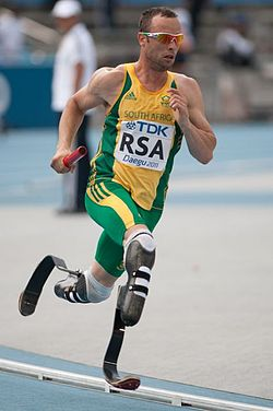 Oscar Pistorius Fastest Man On No Legs