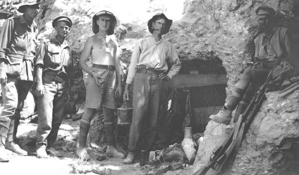 Anzacs at Gallipoli