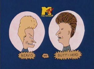 Beavis and Butt Head Character Match