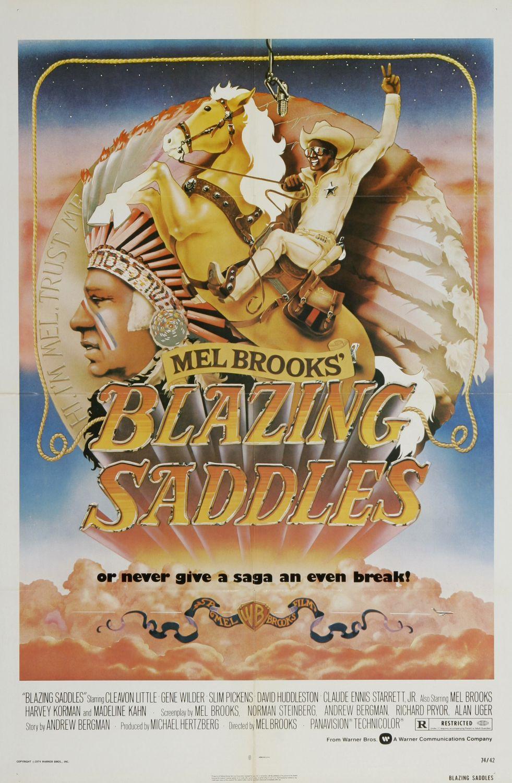 Blazing Saddles Western Spoof